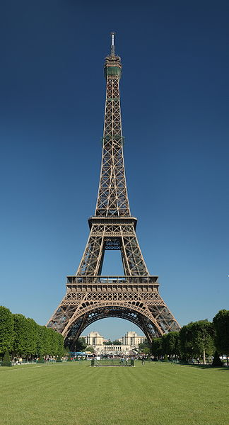 The Eiffel Tower (click for a closer view)