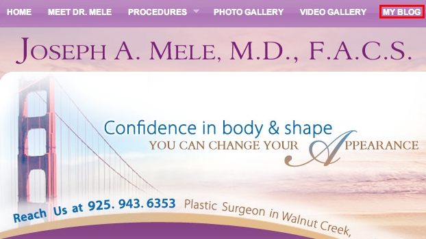 Dr. Joseph Mele's San Francisco Plastic Surgery Blog