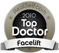 Dr. Mele is a RealSelf 2010 Top Doctor for Facelifts