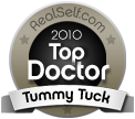 Dr. Mele is a RealSelf 2010 Top Doctor for Tummy Tucks (Abdominoplasty)