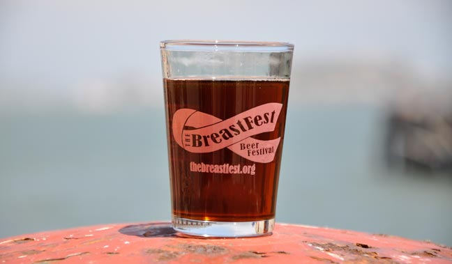 BreastFest 2014 Kicks off in Fort Mason Center at 2 PM - 6 PM today.
