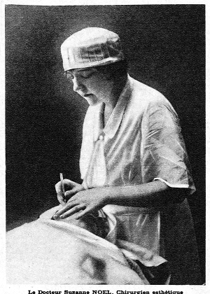 Dr. Suzanne Noel, pictured above, was a gifted Plastic Surgeon and one of the first to perform outpatient surgery. Thankfully, today we use gloves. In 1924 she founded Soroptimist International Paris, the first Soroptimist club in Europe. The very first Soroptimist club was founded in 1921, in nearby Oakland, California.