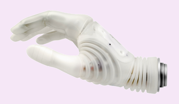 The Michelangelo Hand by Ottobock has a flexible wrist, seven hand positions, an independent thumb and Captain Hook's ire.