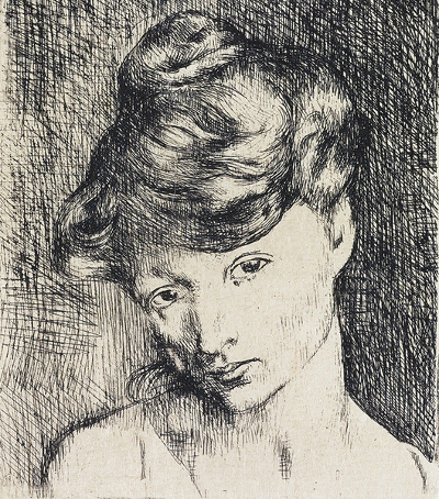 Picasso – Tete de Femme - Jacqueline - Same painter, same woman, different view of the world.