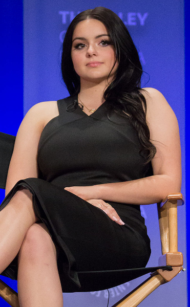 Ariel Winter at PaleyFest 2015, three months before her breast reduction procedure.
