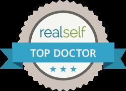 Dr. Mele named RealSelf top doctor.