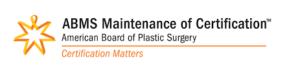 American Board of Plastic Surgery MOC