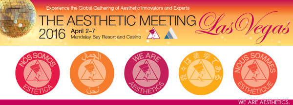 The Annual Aesthetic Meeting attracts thousands of Cosmetic Plastic Surgeons from around the world.