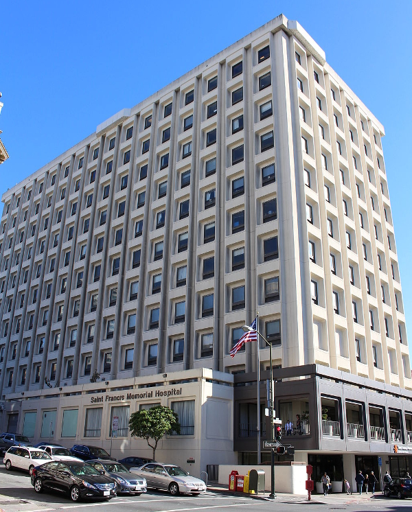 Saint Francis Memorial Hospital, located at 900 Hyde Street on Nob Hill, contains the Bothin Burn Center, a 16 bed ABA certified burn unit, which contains an operating room dedicated to burn care.
