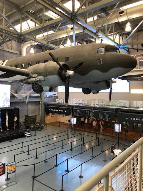 National World War II Museum Loby, New Orleans, LA