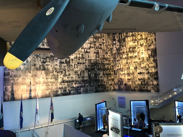 Medal of Honor recipients display at the National World War II Museum in New Orleans, LA.