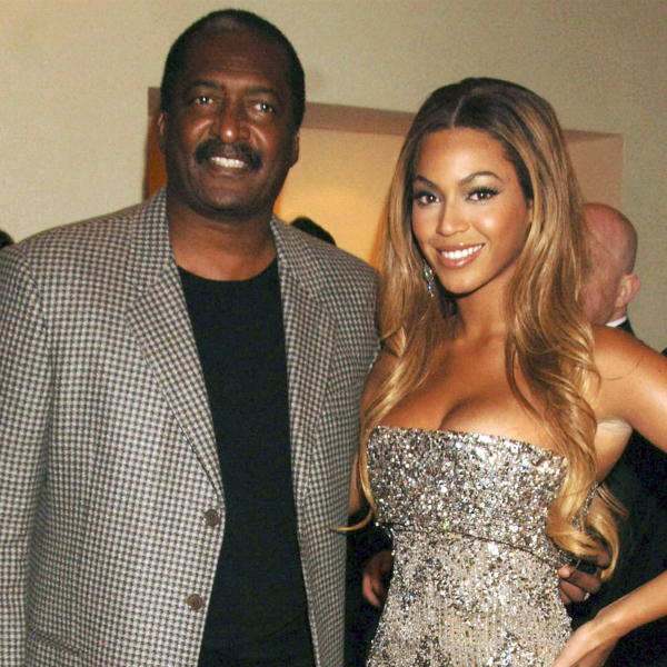 Matthew Knowles, seen here with his daughter Beyonce, was recently diagnosed with breast cancer.