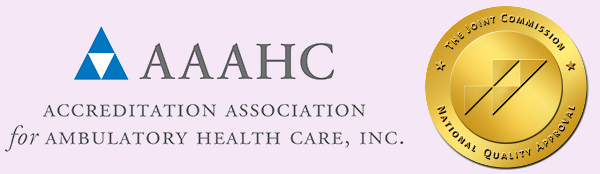 The Accreditation Association for Ambulatory Health Care (AAAHC) and the Joint Commission on Accreditation of Healthcare Organizations (JCAHO) are two of the national recognized accreditation bodies in the United States.