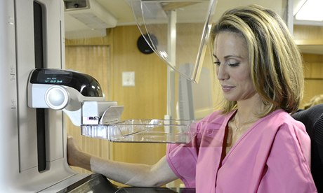 Amy Robach and the Mammography Machine that Helped Save her Life.