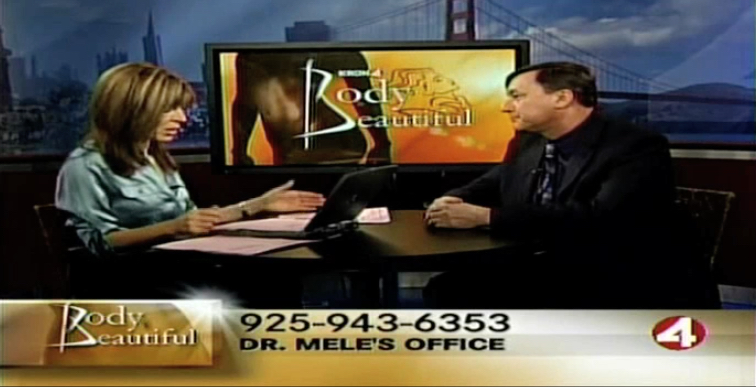 KRON 4's Body Beautiful with Vicki Liviakis and yours truly on the San Francisco Bay Area's News Station.
