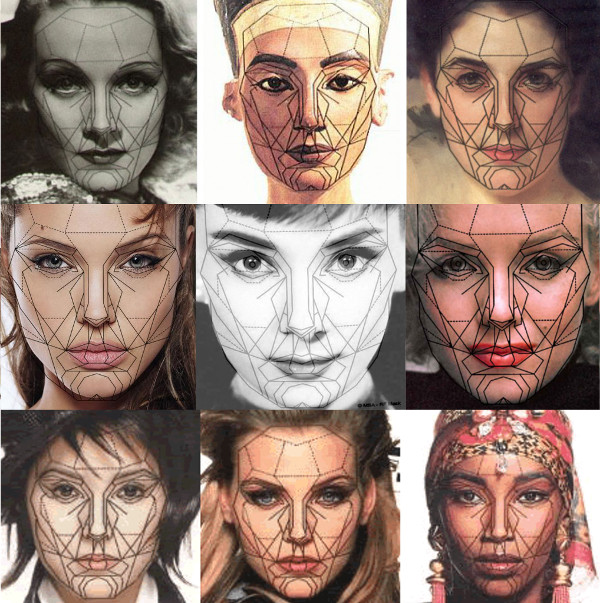 The Golden Ratio applies to the body and the face.