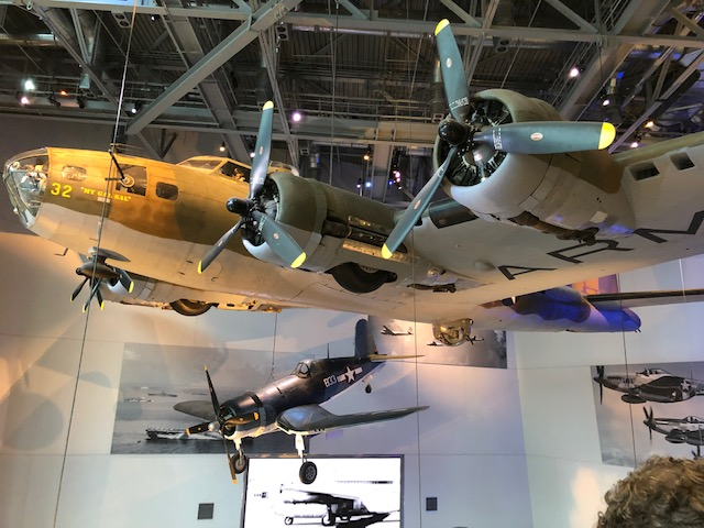 Boeing B-17E Flying Fortress at the National World War II Museum in New Orleans, LA