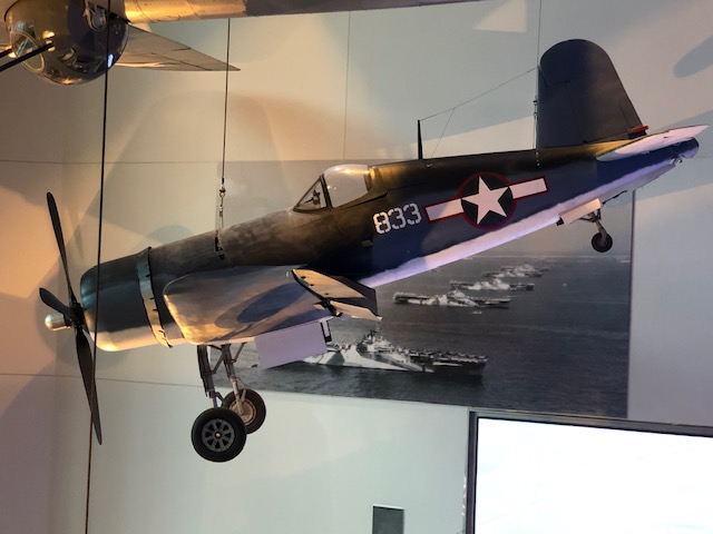 F4U Corsair at the National World War II Museum in New Orleans, LA