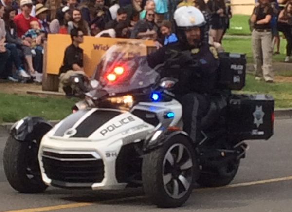 The Latest in UC Davis Police vehicles