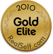 Dr. Mele has Achieved Gold Elite Status on RealSelf.com