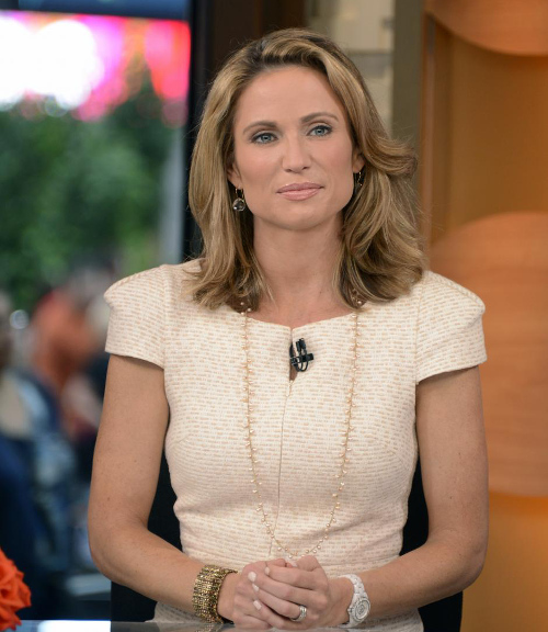 Amy Robach, Host of ABC's Good Morning America, is a role model for women fighting breast cancer.