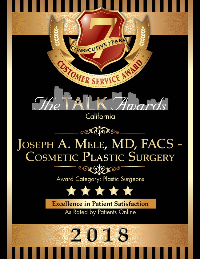 Thank you to my patients for this wonderful and humbling award.