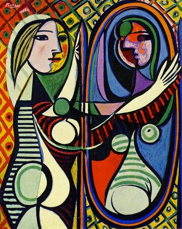 Pablo Picasso's Girl Before a Mirror
