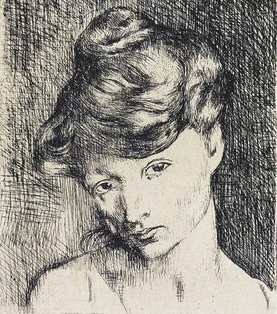 Picasso – Tete de Femme - Jacqueline - Same painter, same woman, different view of the world.