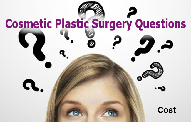 How much does Plastic Surgery cost? What is included? More questions for your Plastic Surgeon.