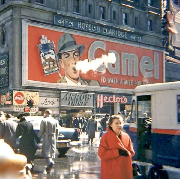 Times Square Camel Billboard