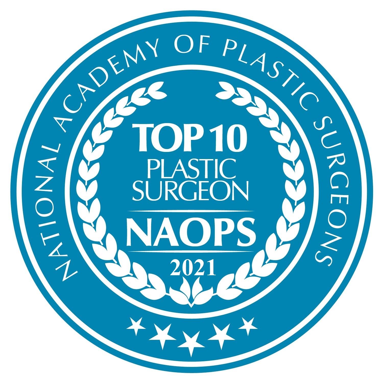 Top 10 Plastic Surgeon Award 2021